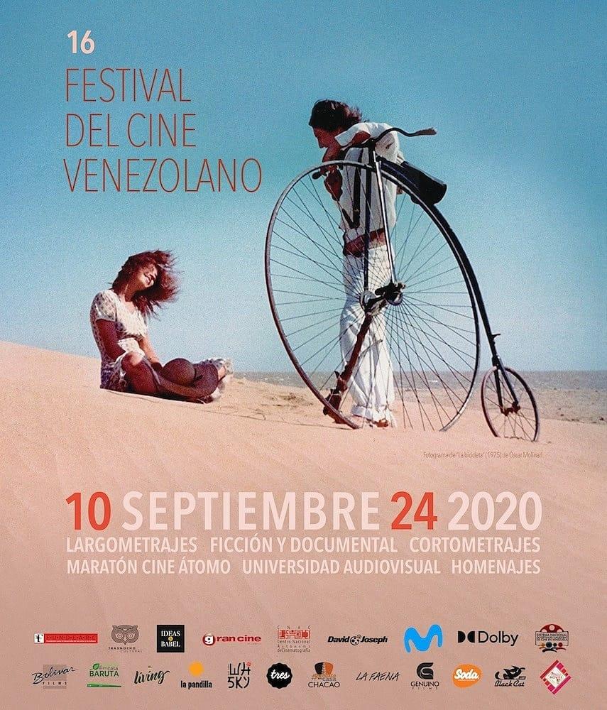 Articulo con información sobre el Festival de Cine Venezolano 2020